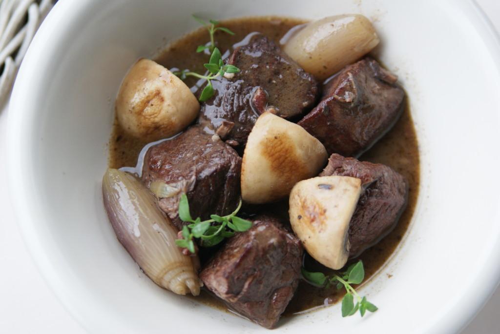 wołowina borguignon