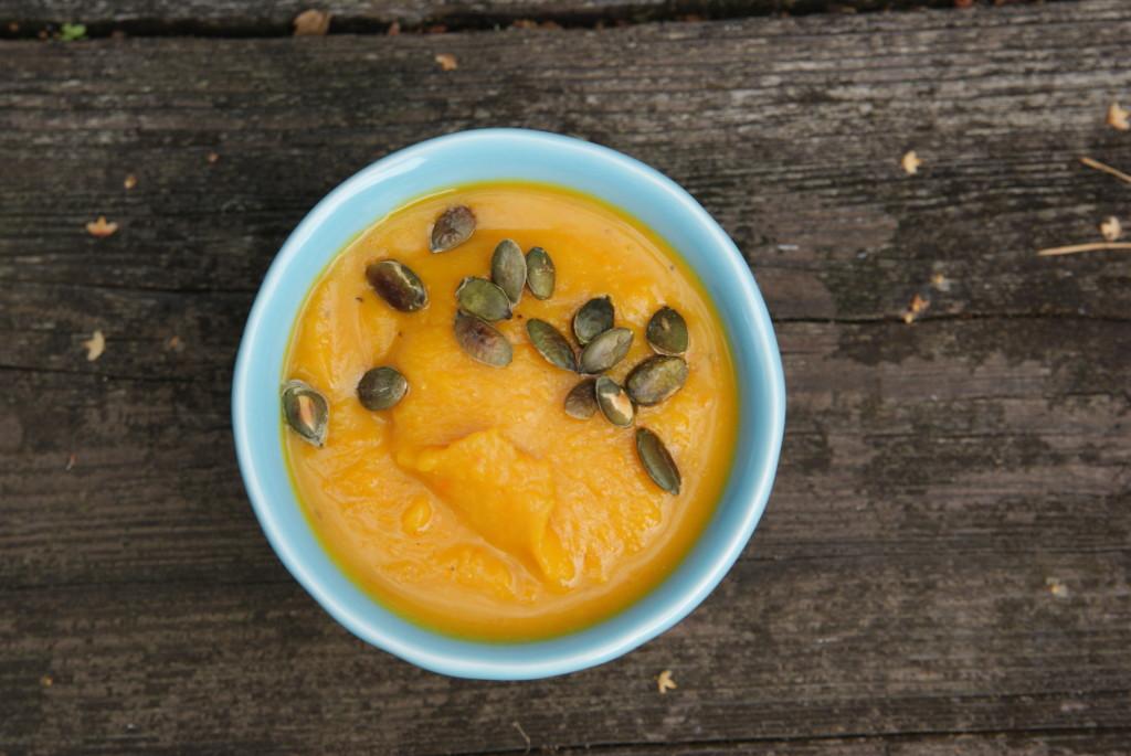 zupa dyniowa z gałką muszkatołowa