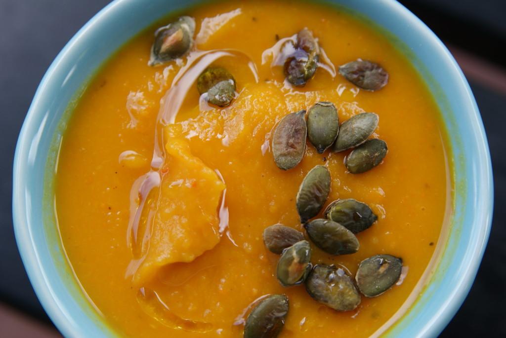 zupa dyniowa z gałką muszkatołową