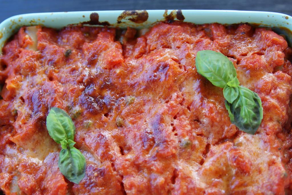 cannelloni z bakłażanem
