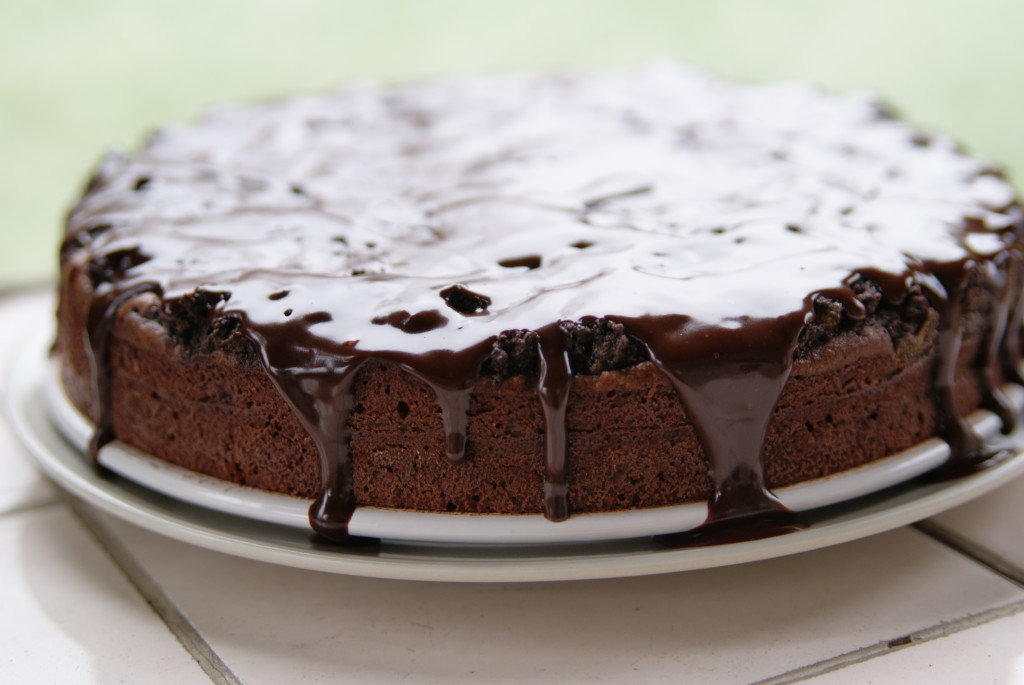 ciasto czekoladowe z makiem i bakaliami