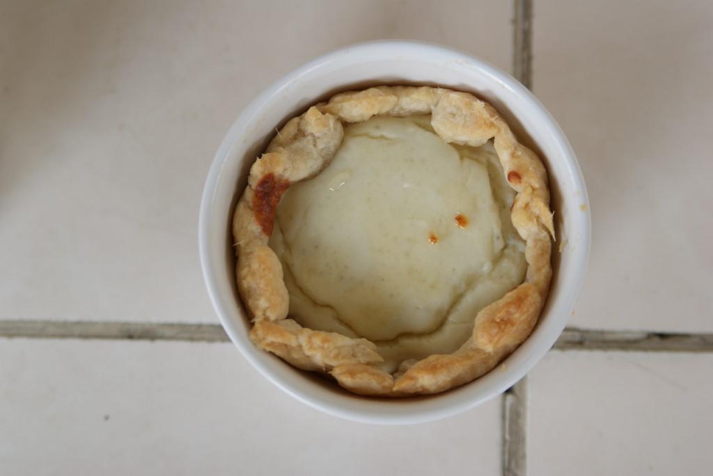babeczki francuskie z ricottą i gorgonzolą
