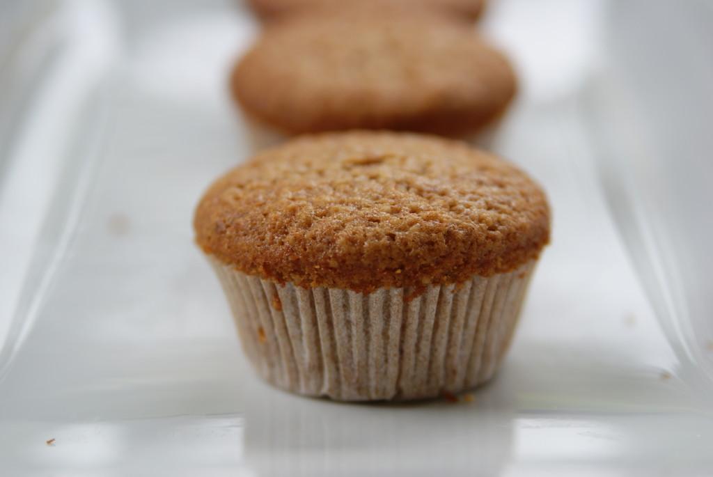 muffinki migdałowe z cynamonem